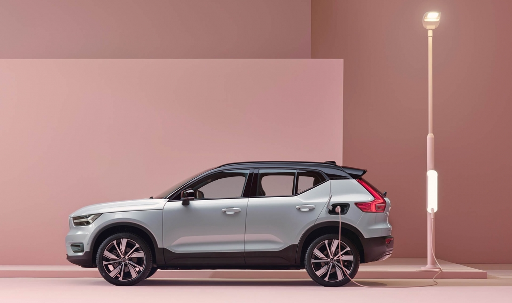 Volvo XC40 Recharge lease